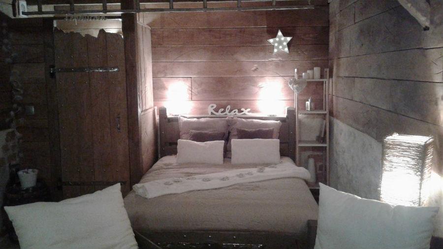 chambre vue lit